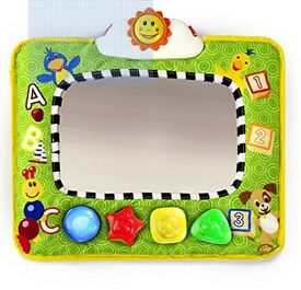 Baby Einstein Music and Discovery Baby Car Seat Travel Mirror