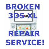 AS IS Broken Nintendo 3DS XL System Fix/Repair Service!