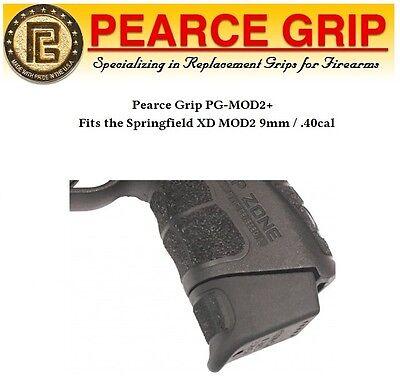 Pearce Grip Pg Mod2 Plus Fits Springfield Xd Mod2 Mod 2 Blk Pg Xdmod2 New