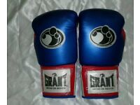 new customized grant boxing gloves 14/oz
