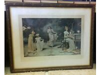 "Maude Goodman ""When the heart to is young"" lithograph"