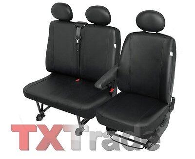 Sitzbezüge 1+2 Schonbezüge Sitzbezug Kunstleder Peugeot Boxer Practical DV1MDV2L