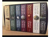 Game of thrones complete series- a song of ice and fire books 1-7