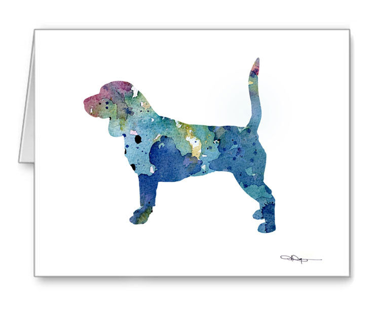BEAGLE Note Cards With Envelopes