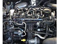Vw Passat b7 cc cff cffb 2.0 TDI CR engine complete 37k turbo Audi A3 q3 Tiguan