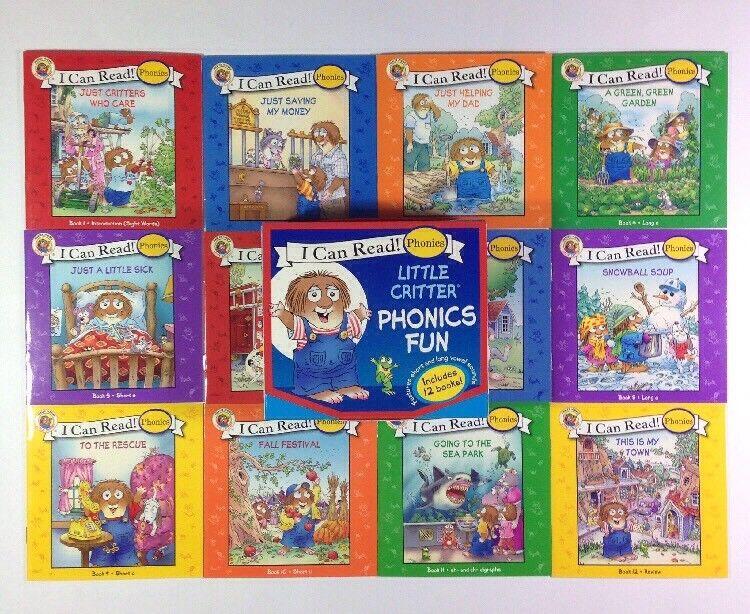Little Critter Lot 12 Childrens Books Box Set Phonics I Can Read NEW