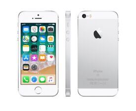 Silver iPhone SE 64GB Immaculate