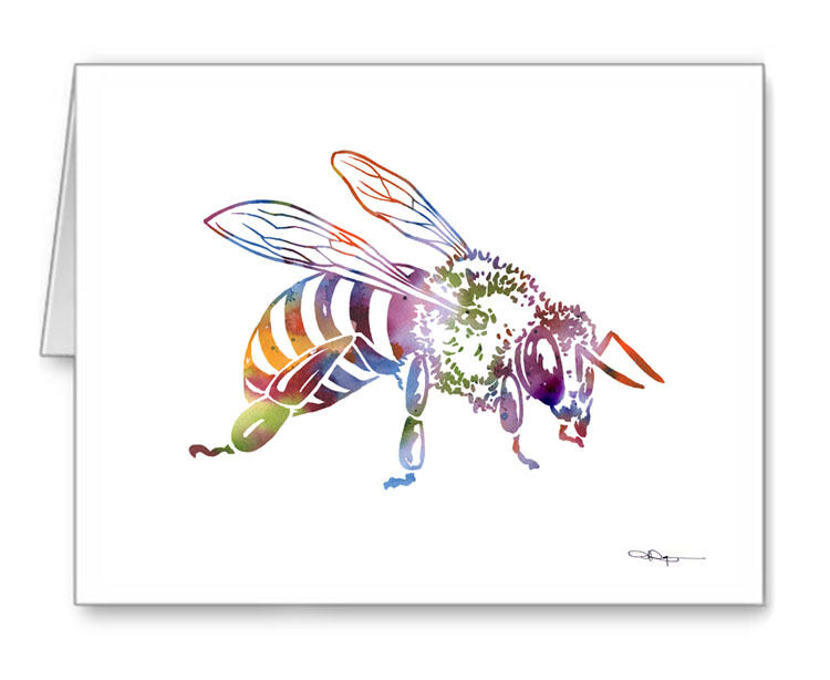 BEE Note Cards With Envelopes