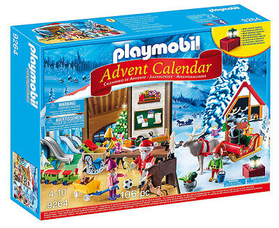 Playmobil Advent Calendar - Santa's Workshop (for Kids 4 to 10)