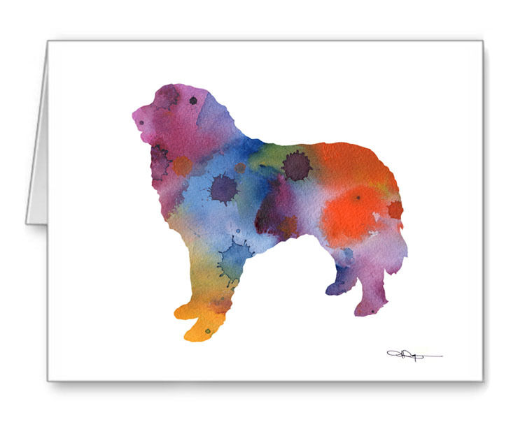 GREAT PYRENEES Note Cards With Envelopes