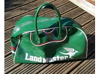For sale is a very rare Land Master sport bag.