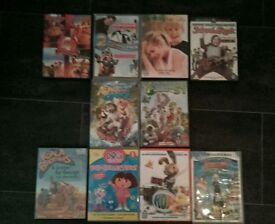 10 children's films/episode's