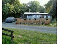 Caravan sited