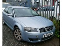 AUDI A3 2.0 DIESEL TDI QUICK SALE NEEDS DRIVE SHAFT AND BONNET LATCH