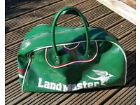 For sale is a retro very rare Land Master bag.