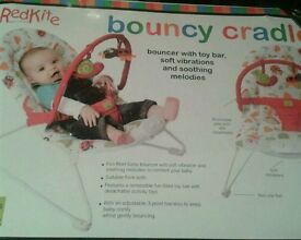 Brand new boxed bouncy cradle