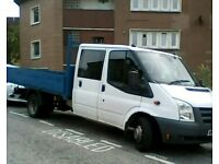 FORD TRANSIT CREW CAB DROP SIDE TRUCK 115PSI MAY PX