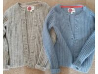 Two mini Boden cardigans