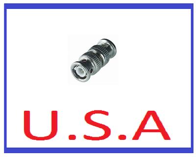BNC Male Coupler/Video/M-M/Adapter/Connector/Converter/CCTV/Camera/Audio/B-26