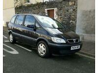 Vauxhall Zafira Design 1.8L 2004 7 Seater 84300 miles, 10 Months MOT, 1 Owner