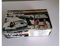 Ingersoll Xk 600B VINTAGE RETRO 70's Videogame.