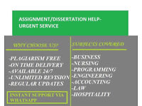Expert Help-Essay,Assignment,Coursework,Dissertation,Programming PHP C#,Nursing,Engineering, SPSS