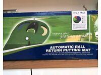 Automatic Ball Return Golf Putting Mat