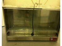 Heated Display Cabinet/Pie Warmer Hot Food Showcase