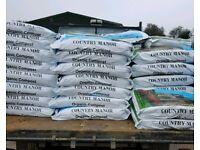 Multi purpose organic compost 60l bags 3 For £10