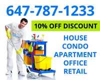 Cleaning Services - House, Condo, Apartment, Office and Retail