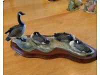 Geese Border Fine Art Ornament