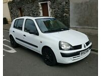 Renault Clio Expression DCI 1.5 (Diesel) £20 Road Tax