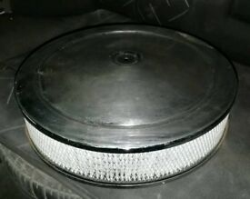 305 350ci Small Block Chevy V8 Air Filter (Air Cleaner Camaro C10 Corvette)