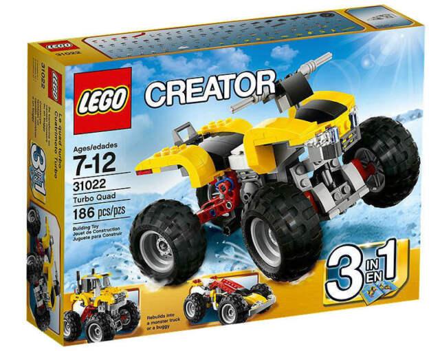 NEU LEGO® CREATOR 31022 - Turbo-Quad 3-in-1-Set  NEU & OVP Monster Truck Buggy