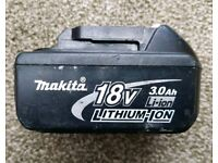 Makita 18v lxt 3ah battery
