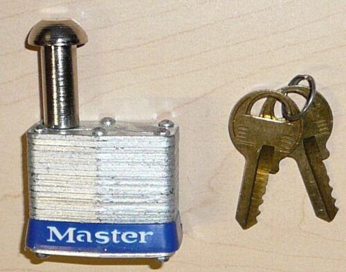 "Master Lock 443KA Padlock Vending and Meter Pin lock 443KA   5/8"" tall pin"