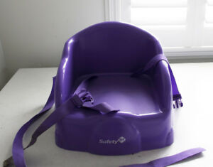 Two Toddler Booster seats for table