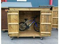 Bike/bicycle storage/store shed
