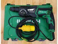 Hitachi ads three mode hammer drill 110v (dewalt makita hilti Milwaukee Bosch ryobi)