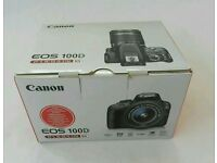 Almost new Canon EOS 100d
