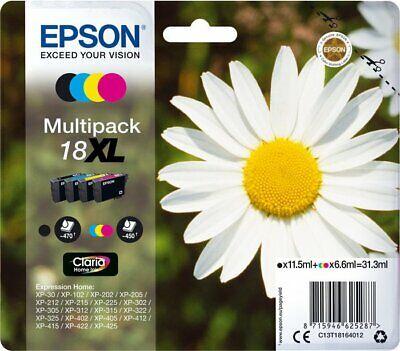 Epson 18 XL Original Tinte Patronen XP102 XP202 XP205 XP212 XP215 XP302 XP305