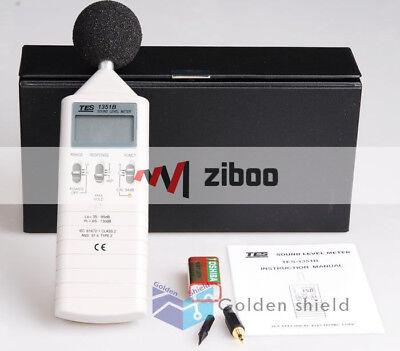 Tes-1351b Sound Level Meter Noise Tester 35-100db 0.1db Aux Output Jacks