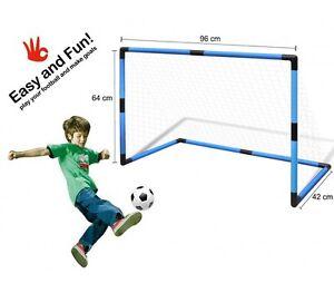 Dettagli su Porta da calcio per bambini con mini palla giochi giardino ...
