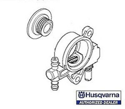 Husqvarna oil oiler pump # 521586001 T435 chainsaw US Seller