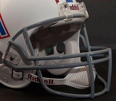 Football Helmet Face Guard - Riddell Z2B (OPO) Adult Football Helmet FACEMASK FACE MASK FACE GUARD (GRAY)