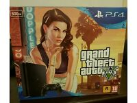 Ps4 console Gta v slim bundle and other items
