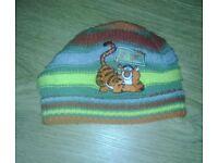 Tigger Warm Winter Hat - 6-12 Months