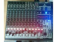 Behringer Xenyx 1832fx Studio/Live mixing desk
