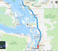Rideshare Seattle to Vancouver