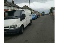 Free van and man house removals 'mattle'plastic'wood